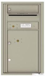 Florence 4C Mailboxes 4C08S-01 Postal Grey