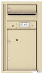 Florence 4C Mailboxes 4C08S-01 Sandstone