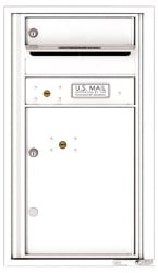 Florence 4C Mailboxes 4C08S-01 White