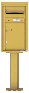 Florence 4C Pedestal 4C08S-01-P Gold Speck