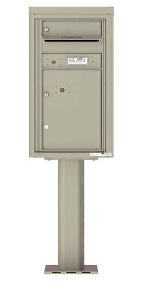 4C08S01-P Commercial 4C Pedestal Mailboxes