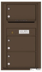 Florence 4C Mailboxes 4C08S-03 Antique Bronze
