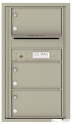 Florence 4C Mailboxes 4C08S-03 Postal Grey
