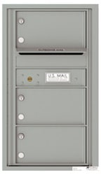 Florence 4C Mailboxes 4C08S-03 Silver Speck