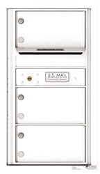 Florence 4C Mailboxes 4C08S-03 White