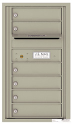Florence 4C Mailboxes 4C08S-06 Postal Grey