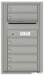 Florence 4C Mailboxes 4C08S-06 Silver Speck