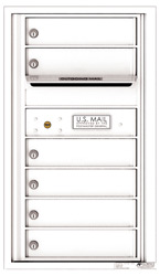 Florence 4C Mailboxes 4C08S-06 White
