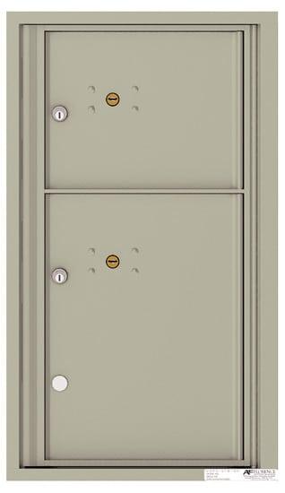 4C08S2P 4C Horizontal Commercial Mailboxes