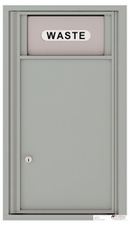Florence 4C Mailboxes 4C08S-Bin Silver Speck