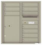 Florence 4C Mailboxes 4C09D-10 Postal Grey