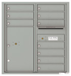 Florence 4C Mailboxes 4C09D-10 Silver Speck