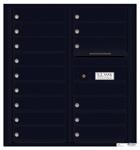Florence 4C Mailboxes 4C09D-15 Black