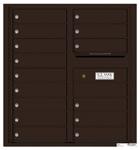 Florence 4C Mailboxes 4C09D-15 Dark Bronze