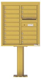 Florence 4C Pedestal 4C09D-15-P Gold Speck
