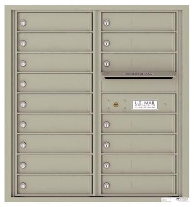 4C09D16 4C Horizontal Commercial Mailboxes
