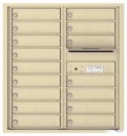 Florence 4C Mailboxes 4C09D-16 Sandstone