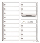 Florence 4C Mailboxes 4C09D-16 White