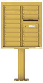 Florence 4C Pedestal 4C09D-16-P Gold Speck