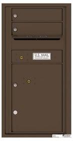 Florence 4C Mailboxes 4C09S-02 Antique Bronze