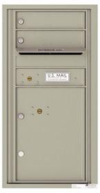 Florence 4C Mailboxes 4C09S-02 Postal Grey