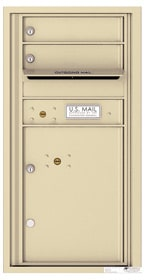 Florence 4C Mailboxes 4C09S-02 Sandstone