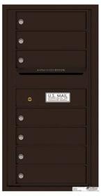 Florence 4C Mailboxes 4C09S-07 Dark Bronze