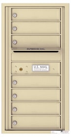 Florence 4C Mailboxes 4C09S-07 Sandstone