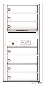 Florence 4C Mailboxes 4C09S-07 White