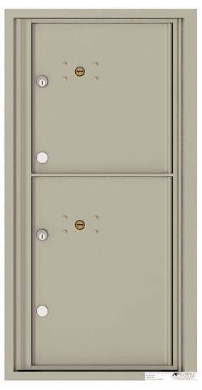 4C09S2P 4C Horizontal Commercial Mailboxes