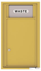 Florence 4C Mailboxes 4C09S-Bin Gold Speck