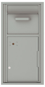 Florence 4C Mailboxes 4C09S-HOP Silver Speck