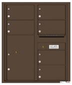 Florence 4C Mailboxes 4C10D-06 Antique Bronze