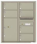 Florence 4C Mailboxes 4C10D-06 Postal Grey