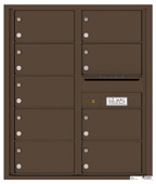 Florence 4C Mailboxes 4C10D-09 Antique Bronze