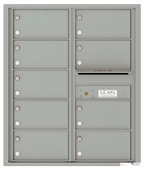 Florence 4C Mailboxes 4C10D-09 Silver Speck