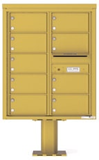 Florence 4C Pedestal 4C10D-09-P Gold Speck