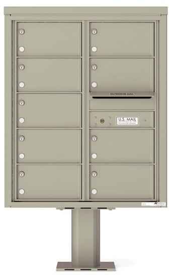 4C10D09-P Commercial 4C Pedestal Mailboxes