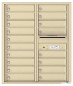 Florence 4C Mailboxes 4C10D-18 Sandstone