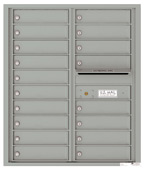 Florence 4C Mailboxes 4C10D-18 Silver Speck
