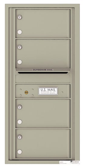 4C10S04 4C Horizontal Commercial Mailboxes
