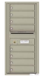 Florence 4C Mailboxes 4C10S-08 Postal Grey