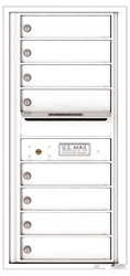 Florence 4C Mailboxes 4C10S-08 White