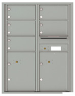 Florence 4C Mailboxes 4C11D-05 Silver Speck