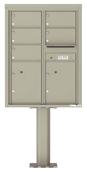 4C11D05-P Commercial 4C Pedestal Mailboxes