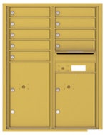 Florence 4C Mailboxes 4C11D-09 Gold Speck