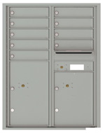 Florence 4C Mailboxes 4C11D-09 Silver Speck