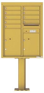Florence 4C Pedestal 4C11D-09-P Gold Speck