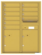 Florence 4C Mailboxes 4C11D-10 Gold Speck