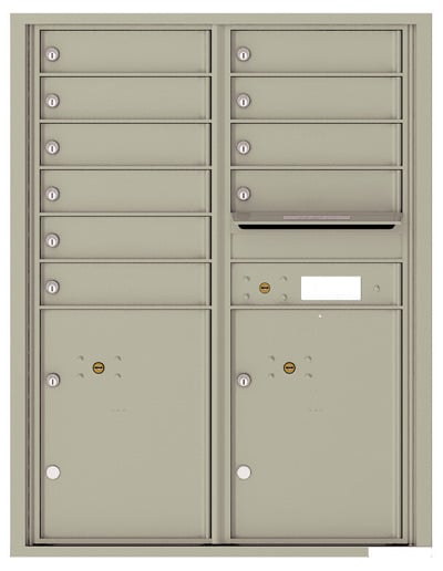 4C11D10 4C Horizontal Commercial Mailboxes